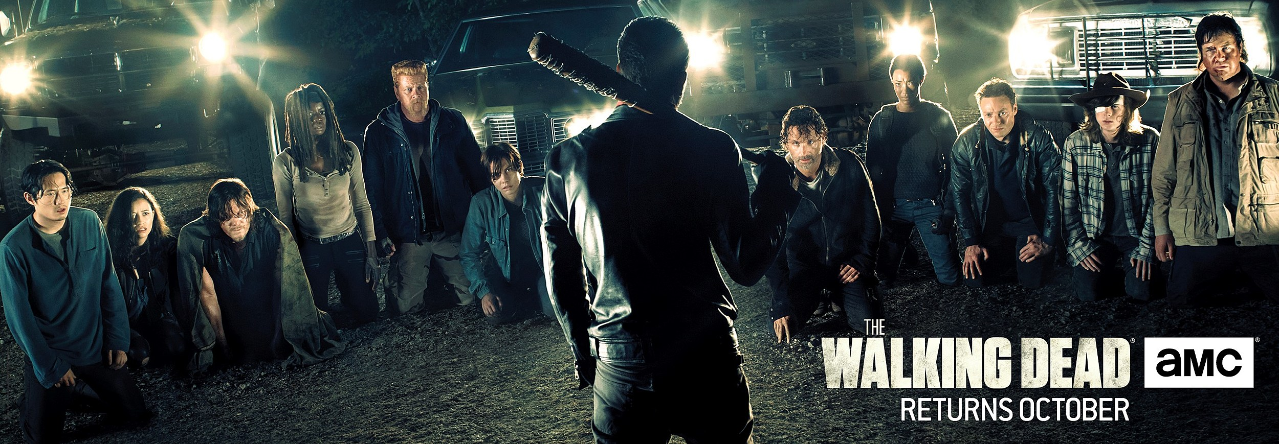 The Walking Dead : the day will come when you won't be.