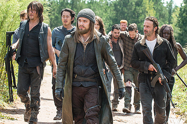Walking Dead S7 Regulars Negan Jesus Dwight