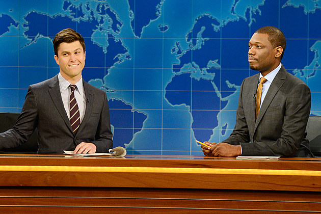 Weekend Update Colin Jost Michael Che National Convention