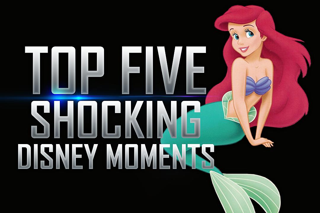 Phenomenal Top 5 Shocking Disney Moments Short Hairstyles Gunalazisus