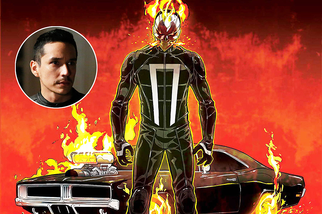 Toys Are Us Search : Ghost rider flames on in first agents of shield photo