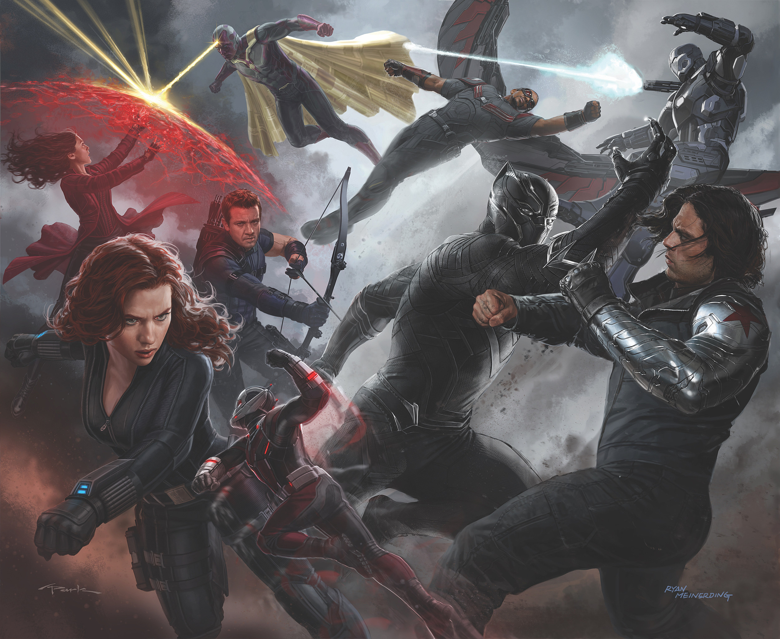 Captain America Civil War Concept Art