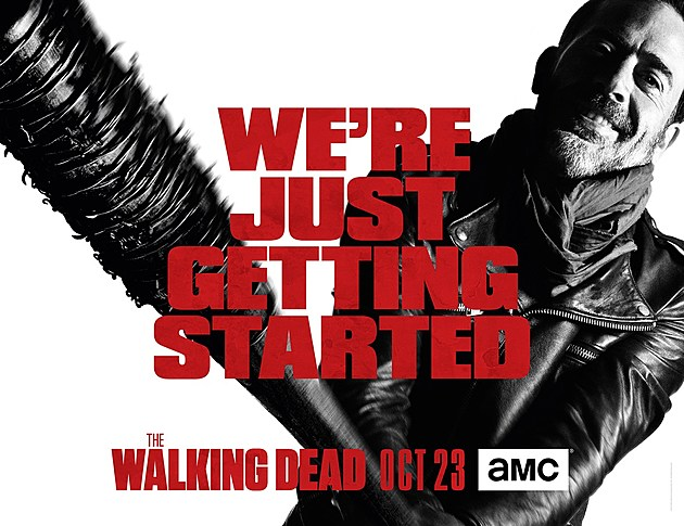 Walking Dead Season 7 Negan Key Art