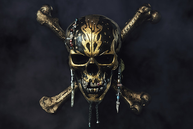 Pirates of the Caribbean Dead Men Tell No Tales logo