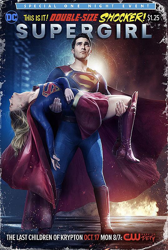 Supergirl Superman Crise Capa