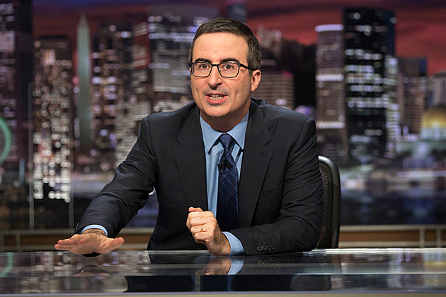 John Oliver Trump Cubs Daily Show
