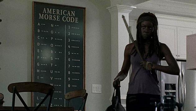 Walking Dead Morse Code Theory