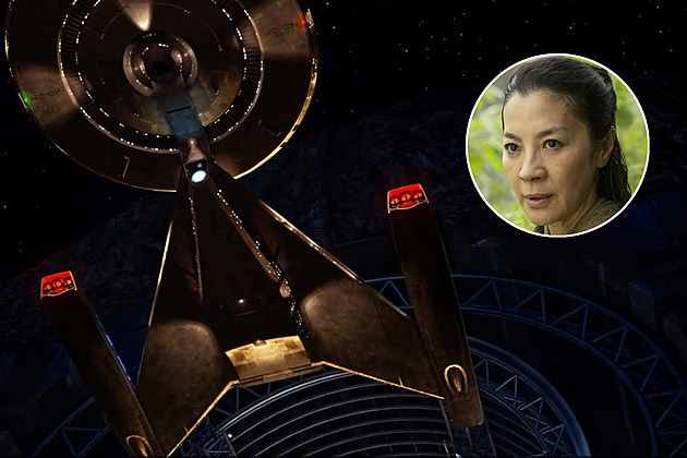 Star Trek Discovery Michelle Yeoh Confirmed Captain