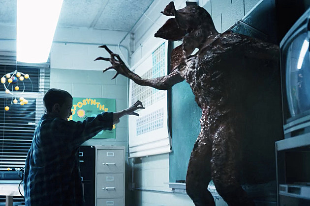 Stranger Things Demogorgon Behind the Scenes Effects