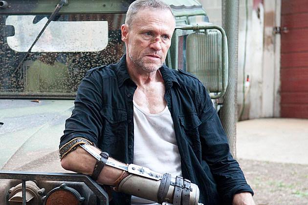 Walking Dead Ending Michael Rooker Carl