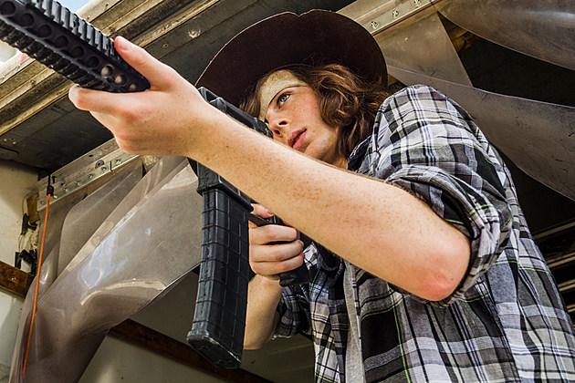 Walking Dead Chandler RIggs Carl College Season 8
