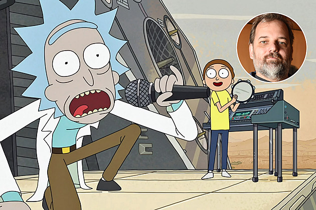 Rick and Morty Dan Harmon Season 3 Fights