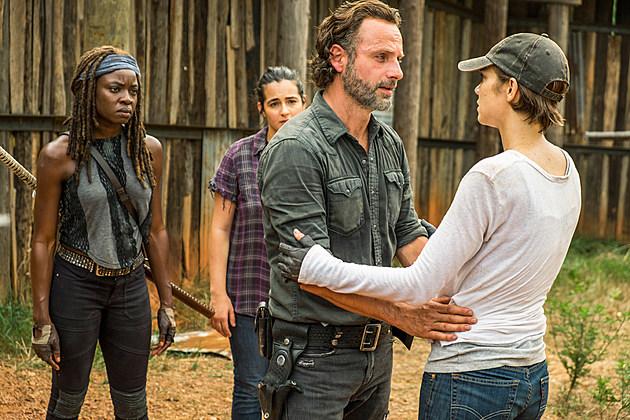 Walking Dead Season 7B Andrew Lincoln Levity