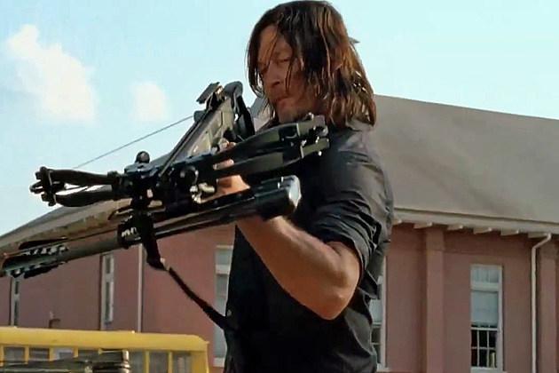 Walking Dead Season 7B Trailer Daryl Crossbow