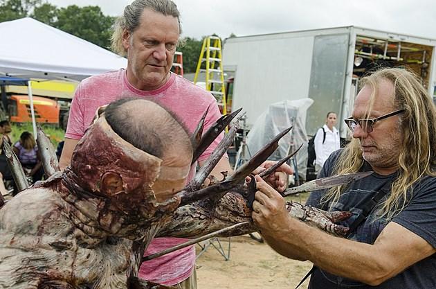 The Walking Dead Spiked Walker Photos