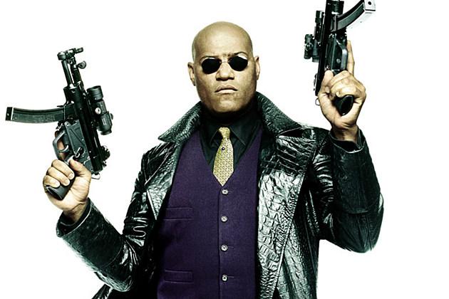 The Matrix Laurence Fishburne