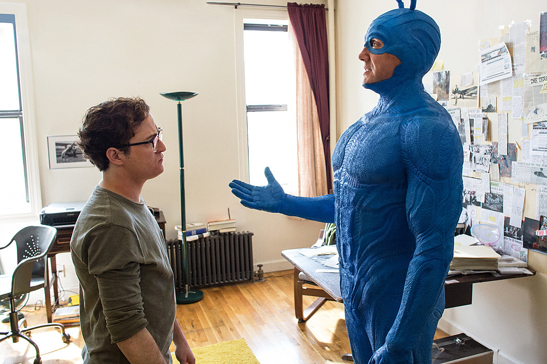 Amazon's 'The Tick' Gets a Revamped Costume for Production Start