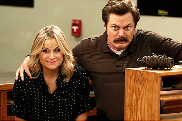 Amy Poehler Nick Offerman NBC Craft Competition
