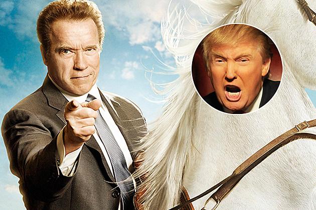 Arnold Schwarzenegger Celebrity Apprentice Leaving Trump