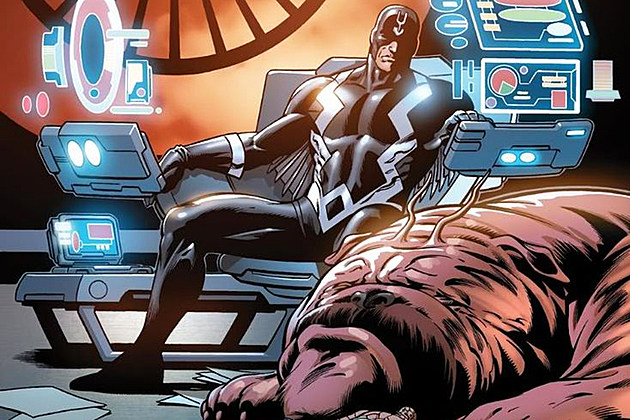Inhumans Set Photos Black Bolt Lockjaw
