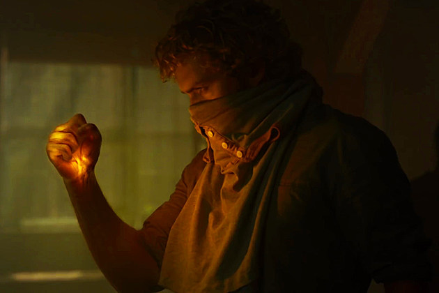 Iron Fist Costume Photo Flashback