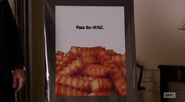 Mad Men Heinz Ketchup Ad