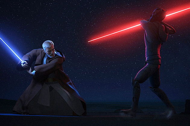 Star Wars Rebels Maul Kenobi Duel Ending
