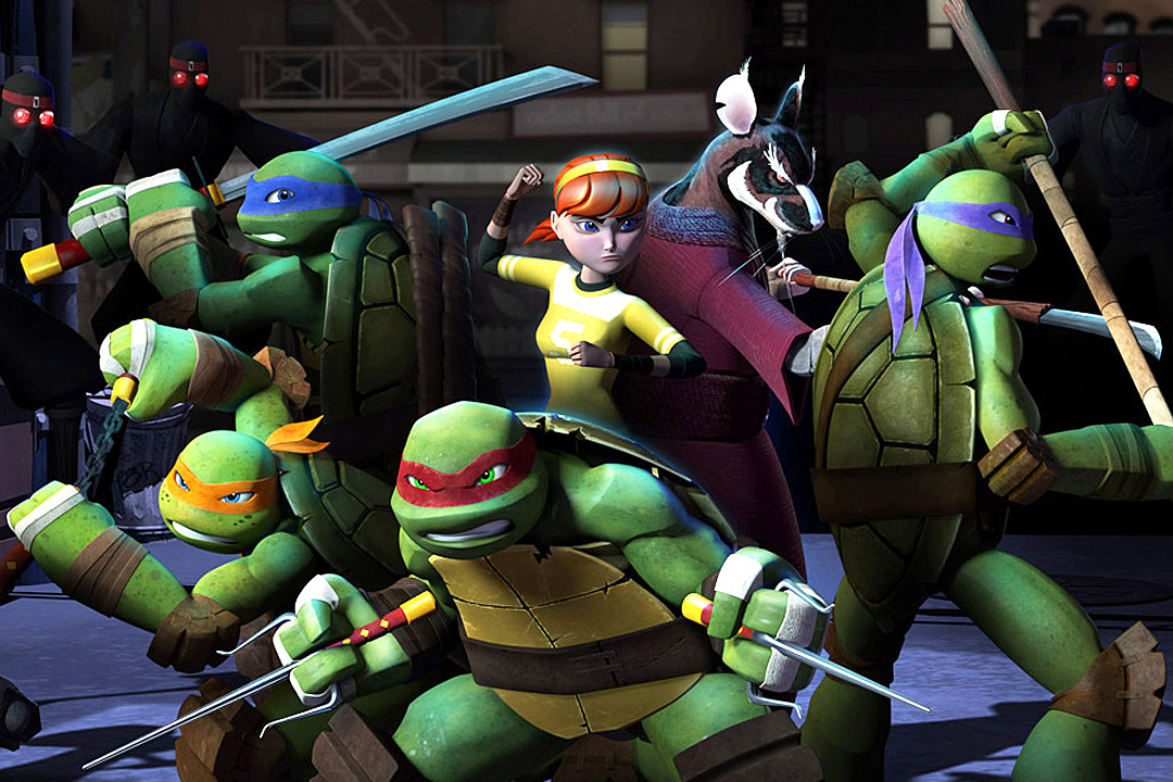 Nickelodeon Rise of the Teenage Mutant Ninja Turtles 2018