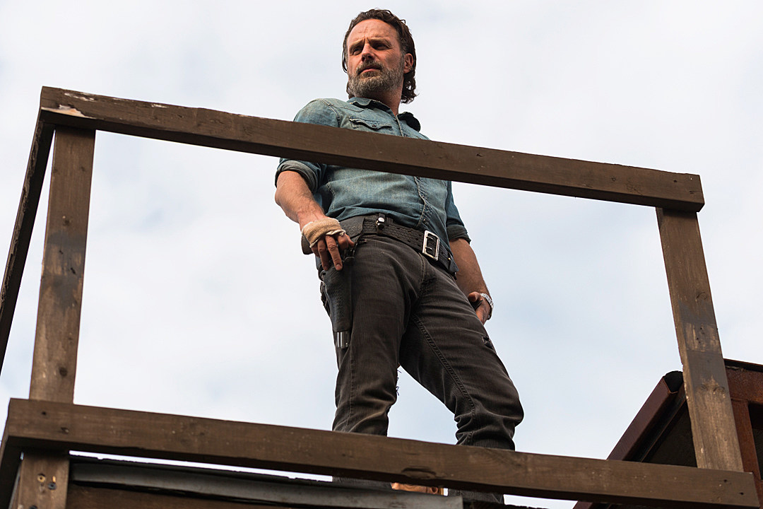Watch 'Walking Dead' Star Andrew Lincoln Describe Rick's Perfect End