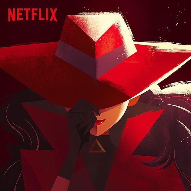 Netflix Carmen Sandiego Poster
