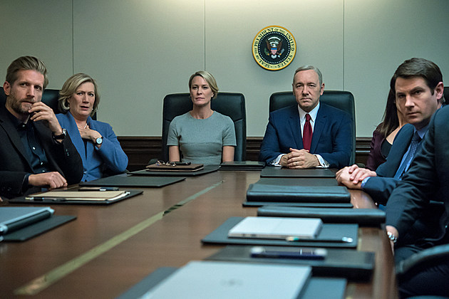 House of Cards Season 5 Photos Trump