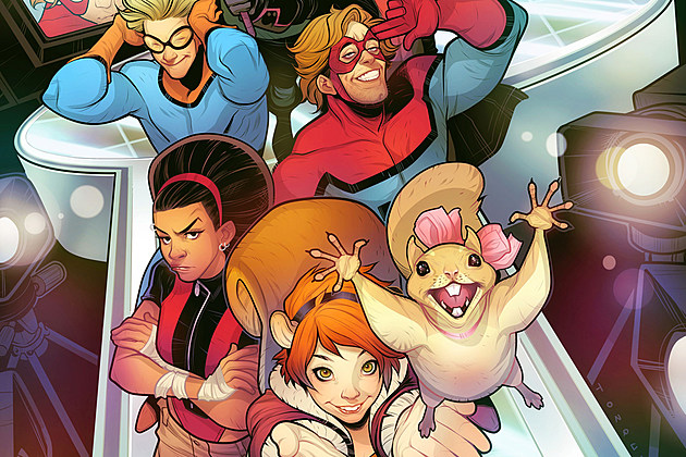 Freeform New Warriors  Cast Squirrel Girl Speedball