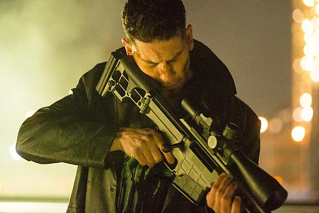 Netflix Punisher Cast Poster Joe Quesada
