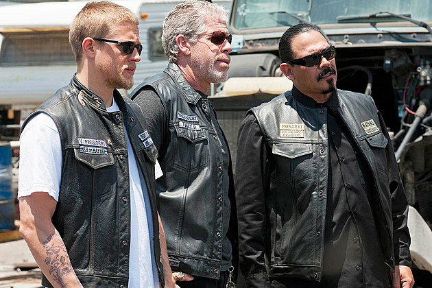 Sons of Anarchy Mayans MC Footage Photo BTS