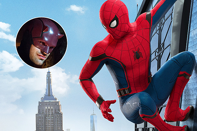 Daredevil Spider Man Homecoming Reference