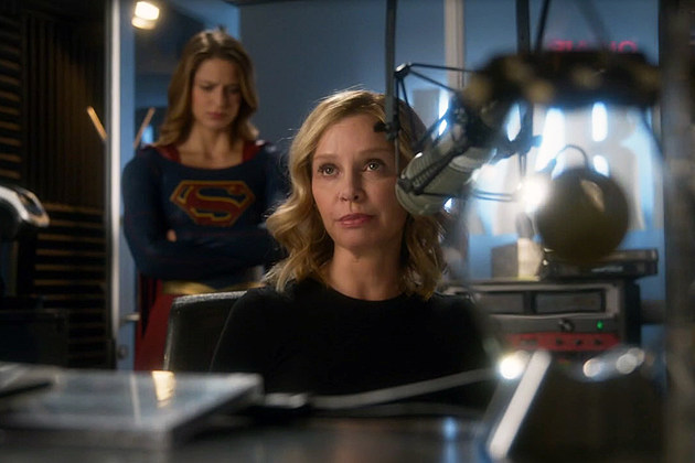 Supergirl Calista Flockhart Cat Grant Season 2 Finale