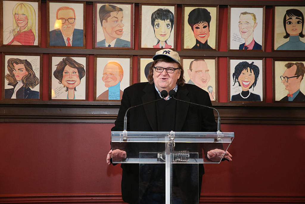 Michael Moore, Academy Award-Winning Filmmaker, Best Selling Author and Political Icon, To Make His Broadway Debut