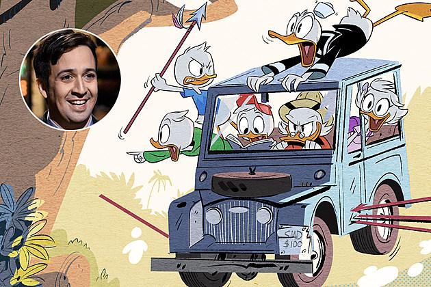 DuckTales Lin Manuel Miranda Gizmoduck