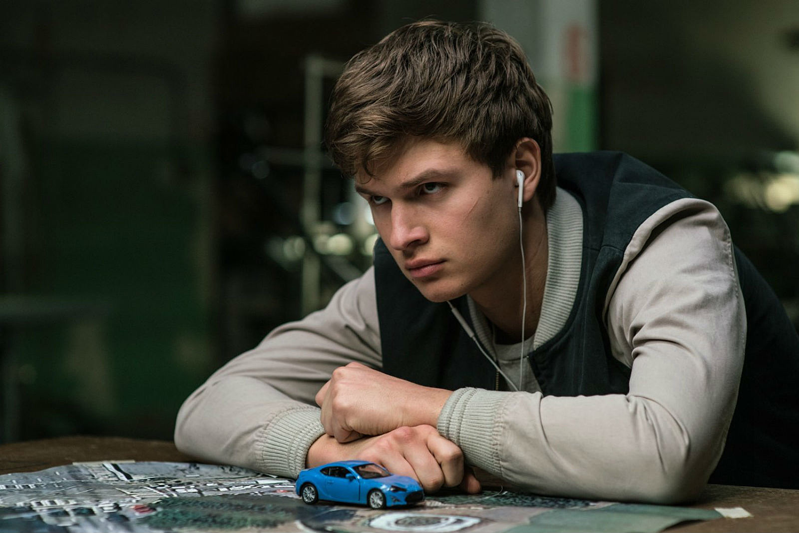 The 'Baby Driver' Trailer Is Even Better Starring the Snapchat Hot Dog