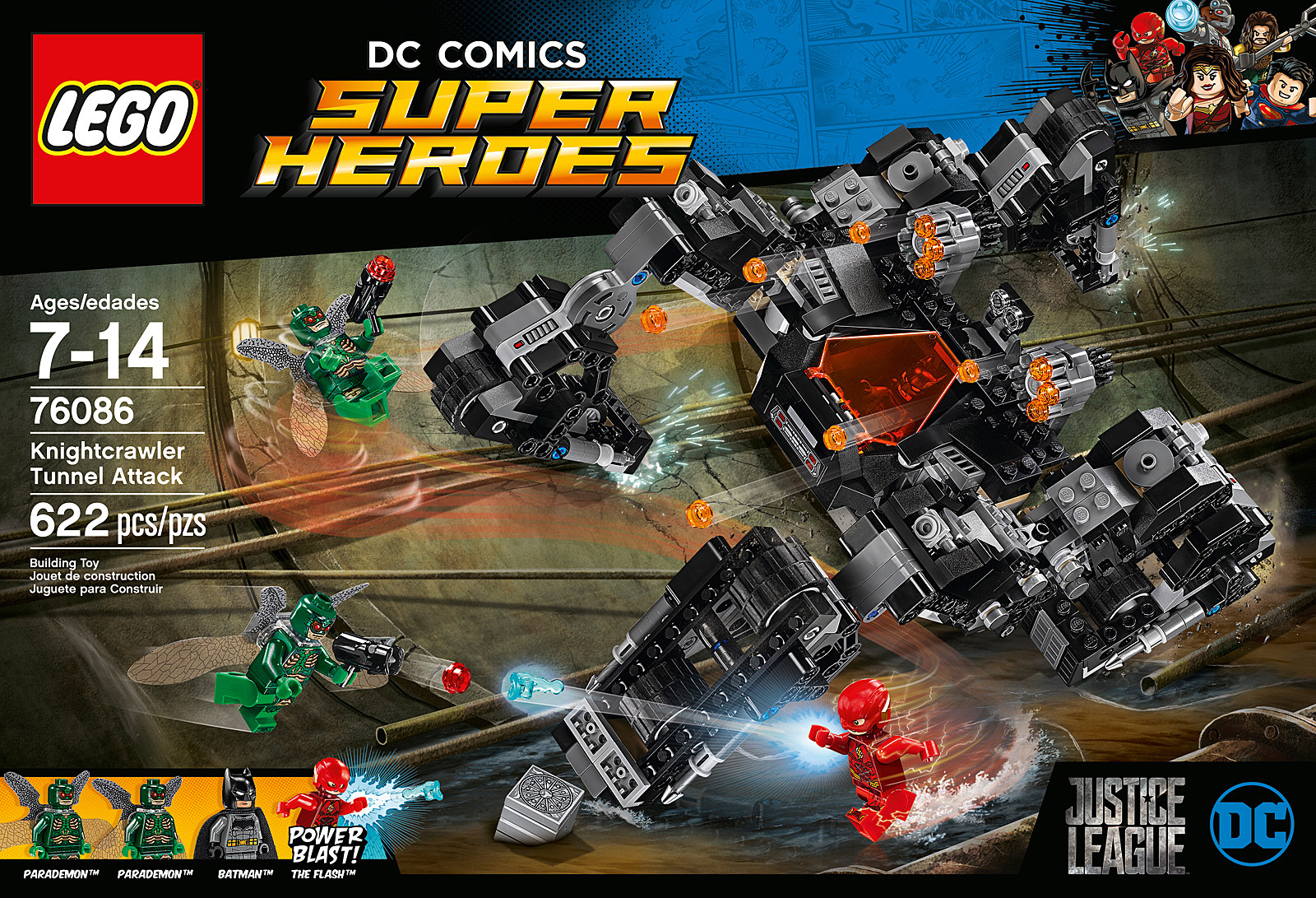 lego debuts new 39 justice league 39 sets with flash and aquaman. Black Bedroom Furniture Sets. Home Design Ideas