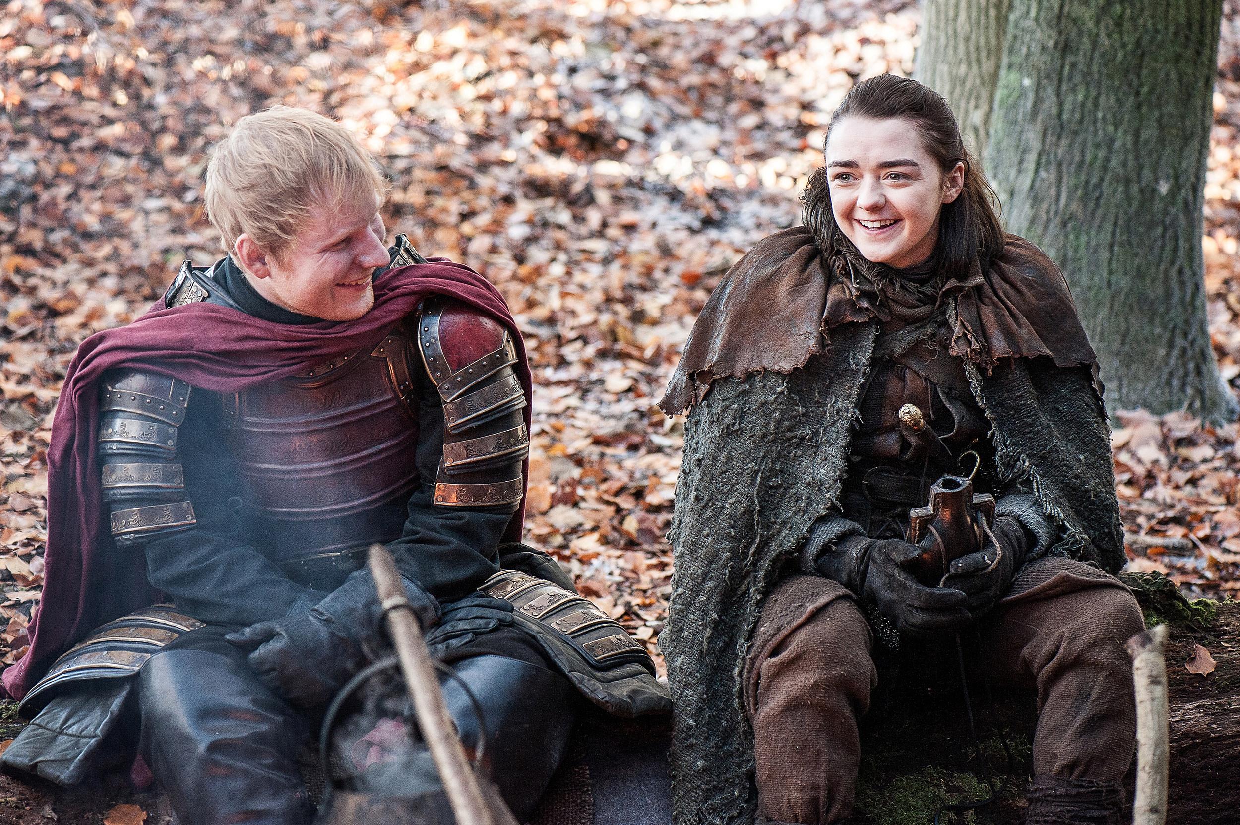 Game of Thrones Season 7 Premiere Ed Sheeran