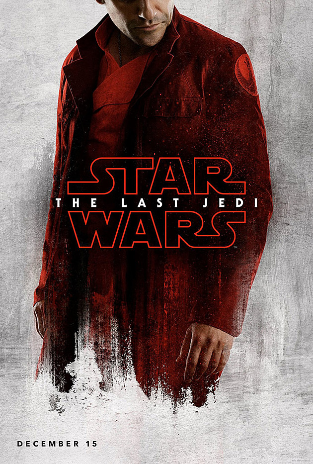 Star Wars: The Last Jedi Oscar Isaac