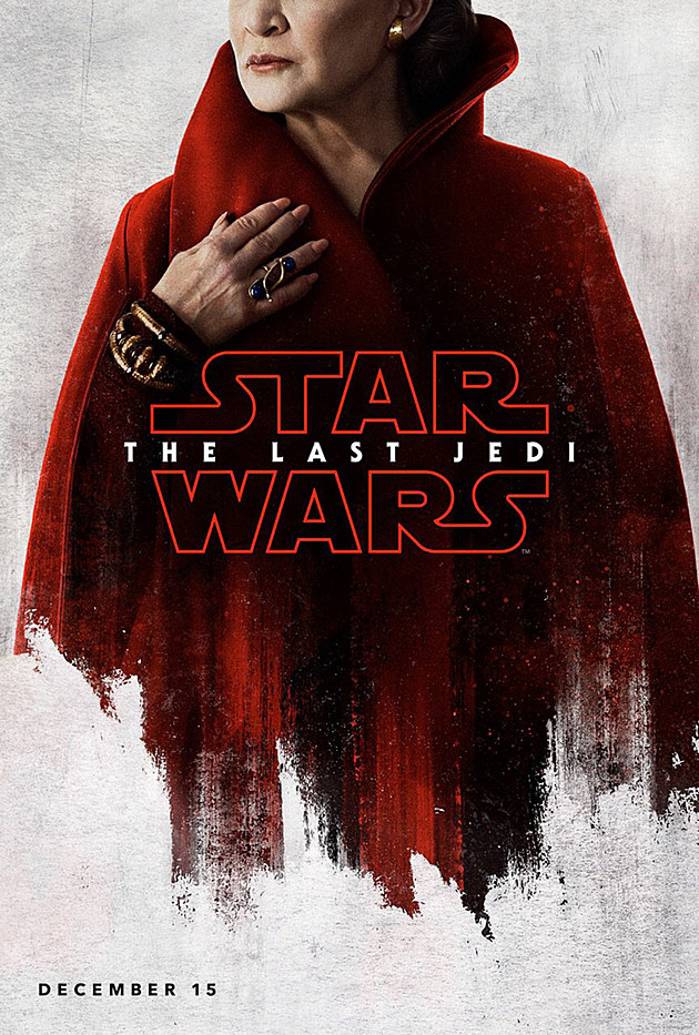 Star Wars: The Last Jedi Carrie Fisher