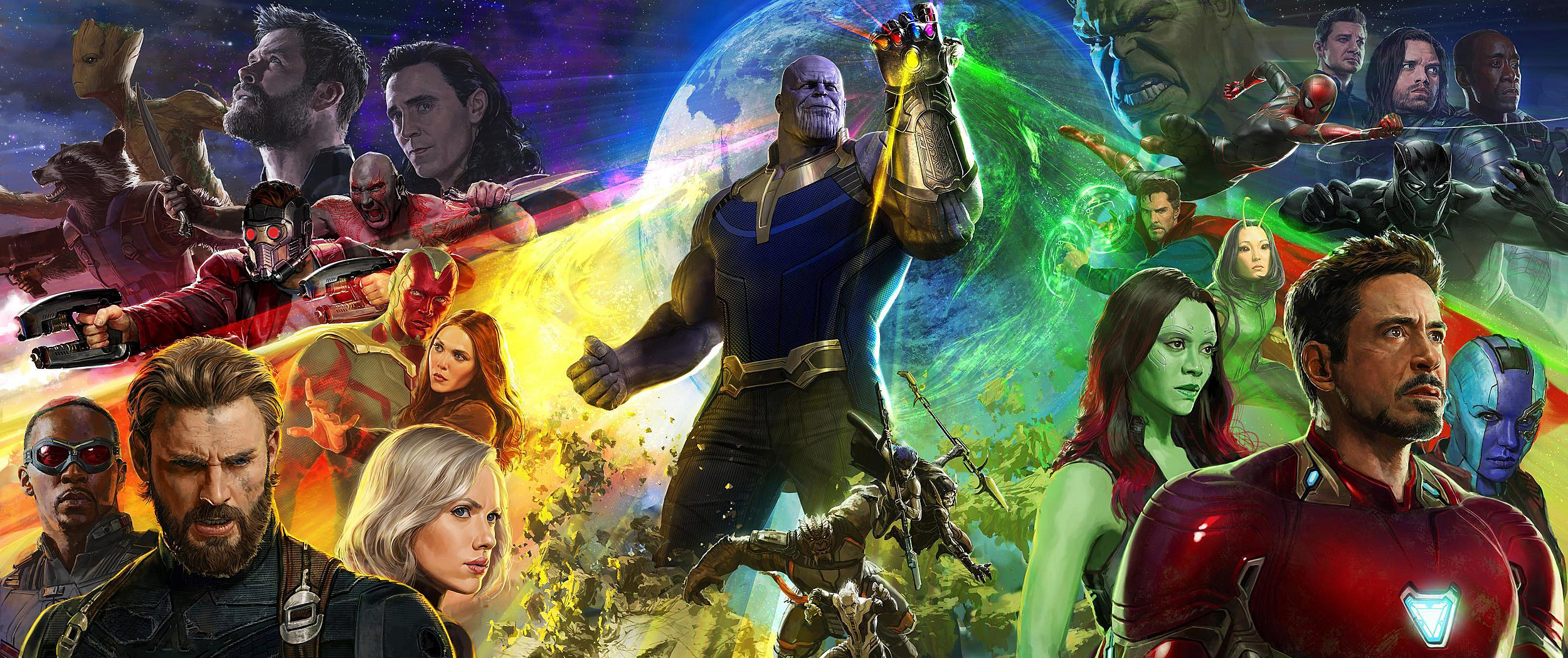 Behold the Massive 'Avengers: Infinity War' Comic-Con Poster
