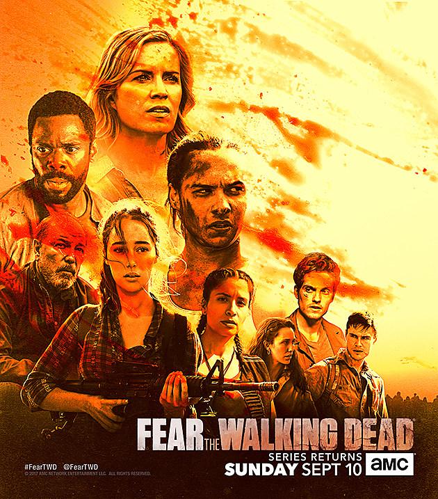 Fear The Walking Dead Season 3 Comic Con Key Art