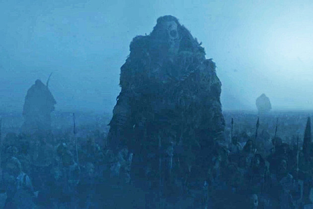 Game of Thrones Giant Wight Wun Wun Premiere