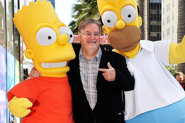 Matt Groening Netflix Disenchantment Cast Futurama