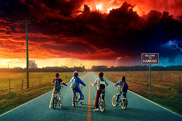 Stranger Things Season 2 Premiere Poster October