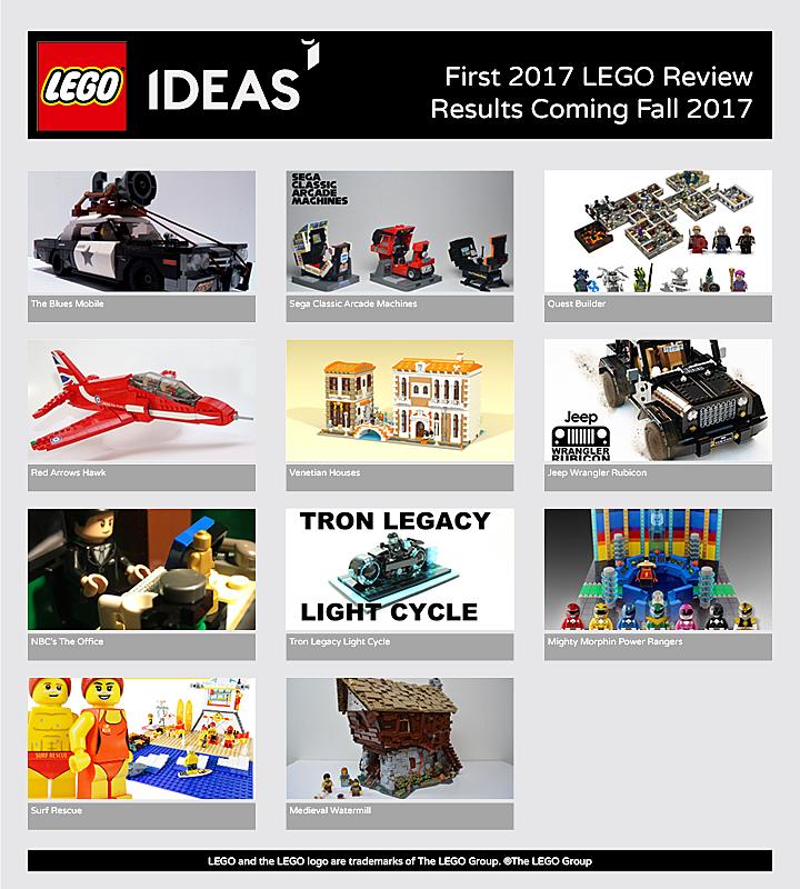 LEGO Fall 2017 ideas