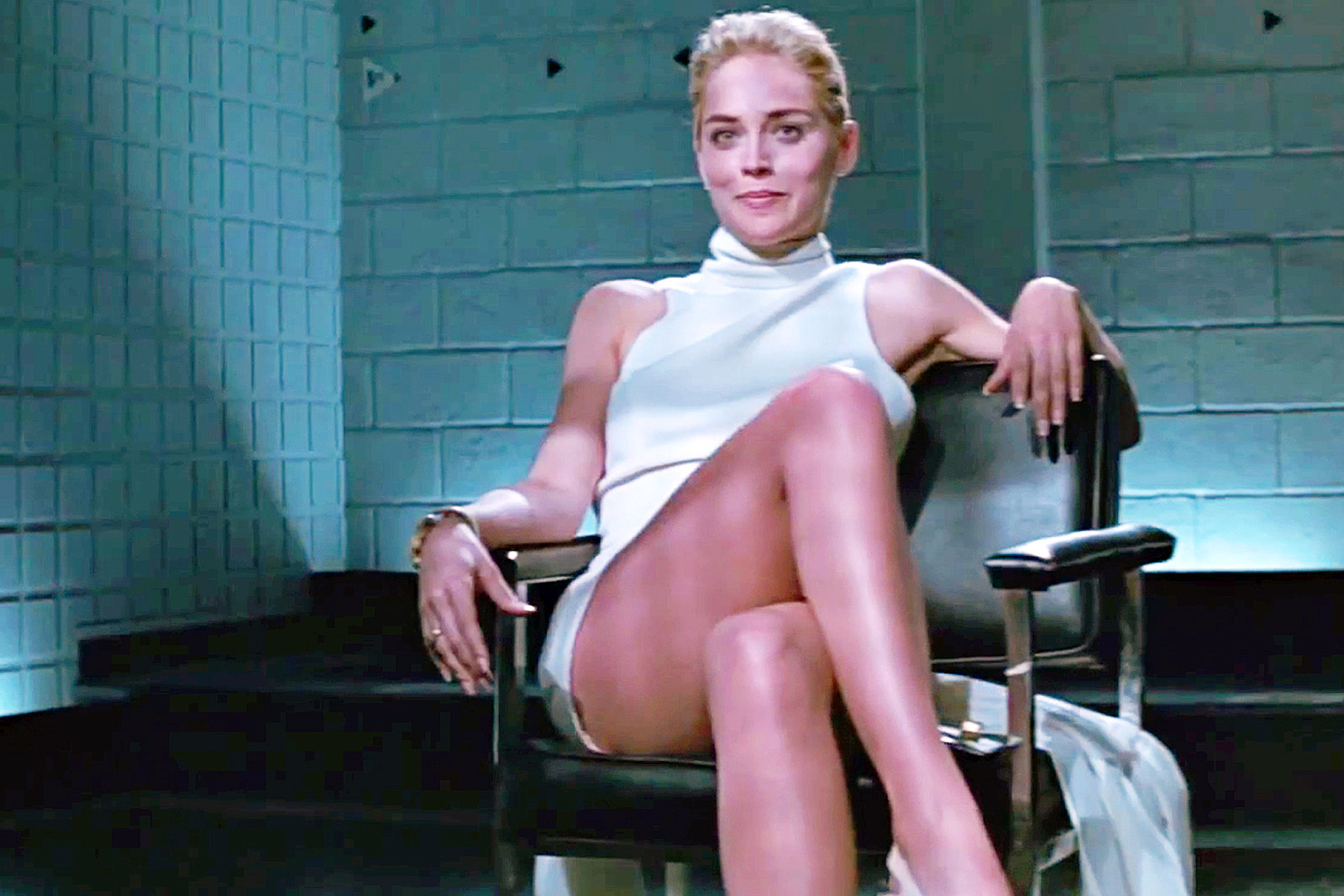 Sharon Stone Basic Instinct leg cross